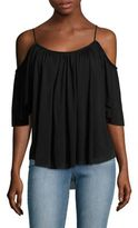 Bailey 44 Fight Phase Cold-Shoulder Top