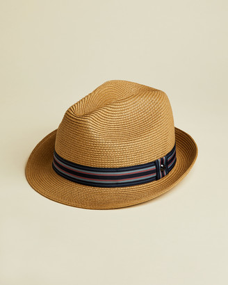 Ted Baker ELITE Straw trilby hat