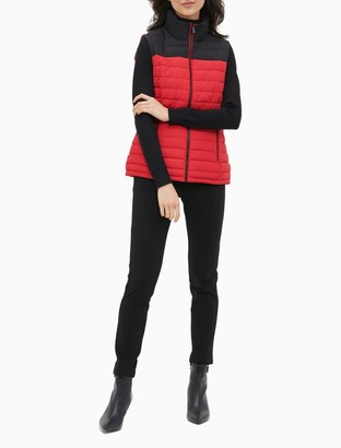 Calvin Klein Colorblock Puffer Vest