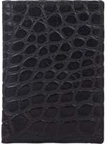 Barneys New York Men's Alligator Folding Card Case