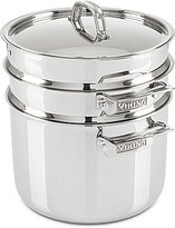 Viking 3-Ply 8-Qt. Covered Stock Pot with Pasta & Steamer Inserts