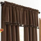 """WholeHome """"Mirage"""" Foam-Backed Straight Valance"""