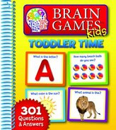 Publications International Brain Games Kids Toddler Time