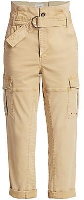 Frame Safari Paperbag Belted Pants