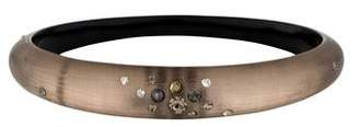 Alexis Bittar Lucite & Crystal Tapered Bangle