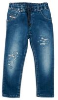 Diesel Toddler's & Little Boy's Distressed Stretch Denim