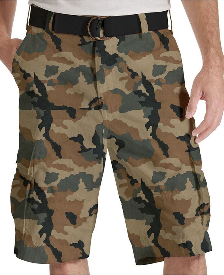 Levi's Shorts, Squad Gridley Camo Cargo Shorts, Elmwood
