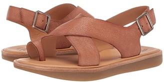 Kork-Ease Canoe (Black Full Grain Leather) Women's Sandals