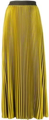 Luisa Cerano Long pleated skirt