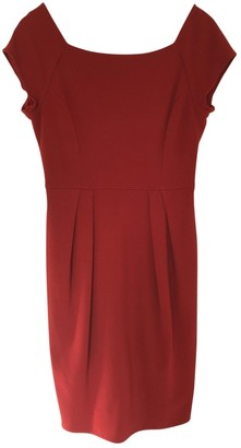 Diane von Furstenberg Red Wool Dresses