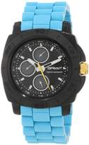 Sprout Men's ST/3800BKTQ Blue Corn Resin Water Resistant Multi-Function Watch