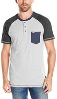 Lee Men's American USA Short Sleeve Henley (Various Styles and Size Including Big and Tall)