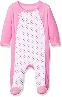Dodo Homewear Baby Girls' Lfd.chaton.grv Onesie