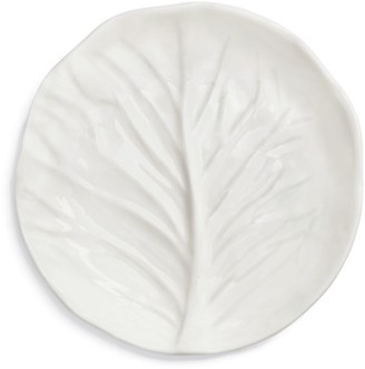 Tory Burch Lettuce Ware Canape Plate, Set Of 4