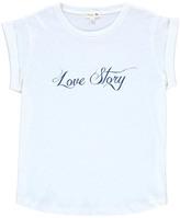 soeur Cotton Linen \u201cLove Story\u201d Valetin T-Shirt