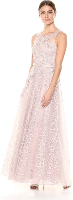 Decode 1.8 Women's Embroidered Mother of The Bride Dress