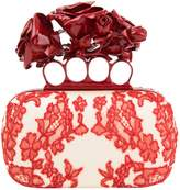 Alexander McQueen Knuckle cloth clutch bag