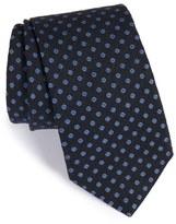 Eton Floral Linen & Silk Tie