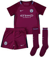 Nike 2017-18 Man City Away Mini Kit (Sterling 7) Pink