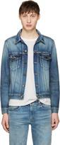 Saint Laurent Blue Denim Jacket