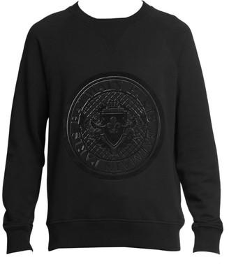 Balmain Coin Logo Sweatshirt