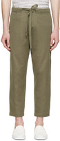 TOMORROWLAND Green Russel Easy Trousers