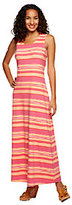 Liz Claiborne New York Regular Stripe Printed Maxi Dress