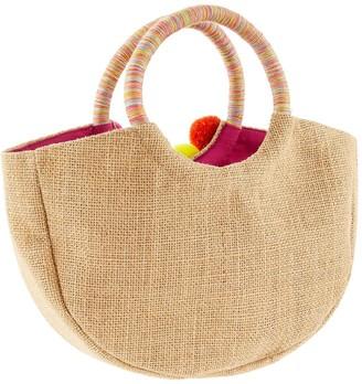 Monsoon Girls Tropical Paradise Hoop Handle Bag - Multi