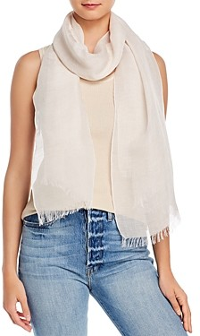 Fraas Micro Stripe Solid Scarf