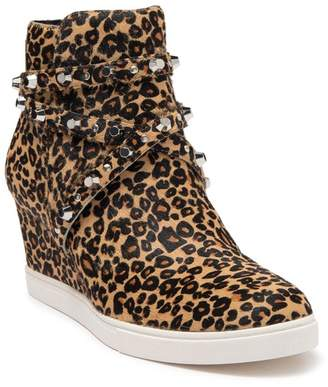Linea Paolo Fallon II Genuine Calf Hair Wedge Sneaker