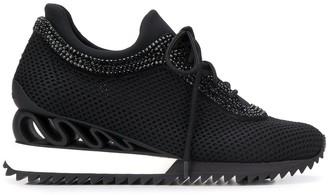 Le Silla Reiko Wave elevated-sole sneakers