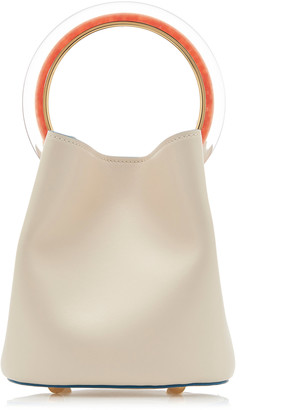Marni Pannier Resin Leather Bucket Bag