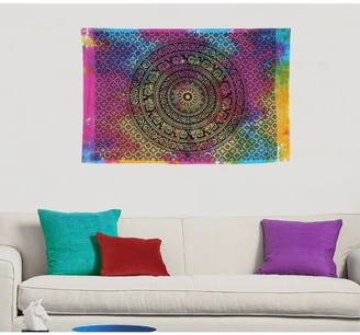 Oussum Multi-Color Boho Mandala Hippie Wall Hanging Poster Tapestry Throw Decor - 30x45 inches