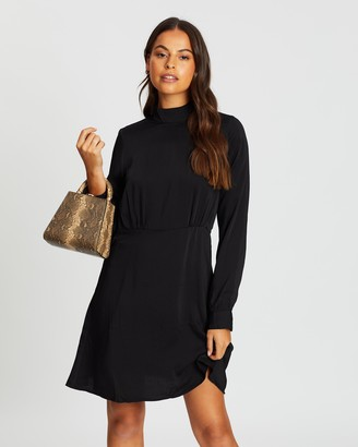 Only Naomi Puff Sleeve Dress