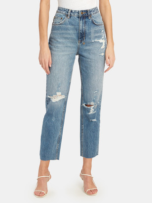 Ksubi Chlo Wasted High Rise Straight Leg Jeans