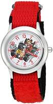 Disney Boy's 'Mickey Mouse' Quartz Stainless Steel and Nylon Casual Watch