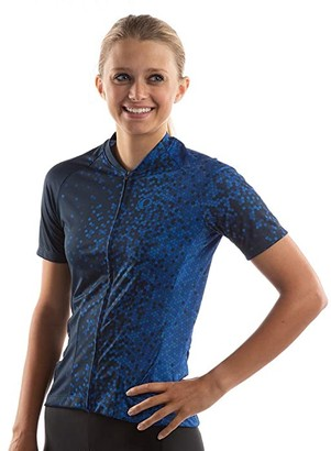 Pearl Izumi Attack Jersey (Navy/Lapis Hex) Women's Clothing