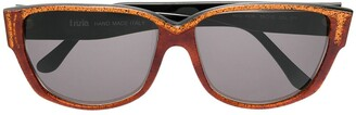 Krizia Pre-Owned Square Frame Sunglasses
