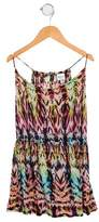 Milly Minis Girls' Sleeveless Printed Top