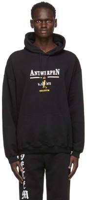 Vetements Black Antwerpen Hoodie