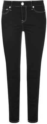 True Religion Caia Stitch Super Skinny Jeans