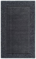 JCPenney JCP Home Collection HomeTM Shag Border Washable Rectangular Rug