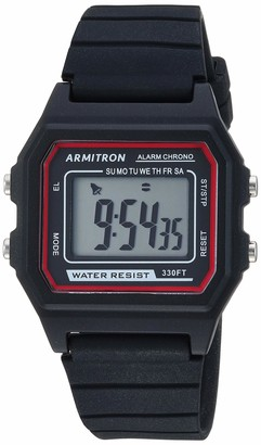 Armitron Sport Quartz Sport Watch with Silicone Strap