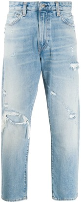 Levi's Made & Crafted Draft Taper mid-rise jeans