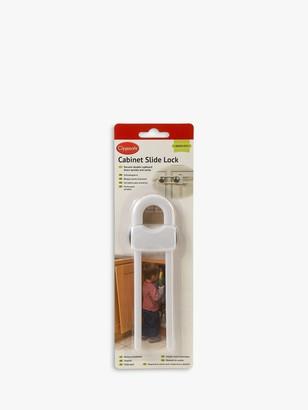 Clippasafe Sliding Cabinet Lock, White