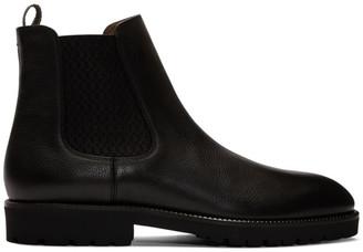 BOSS Brown Edenlug Chelsea Boots