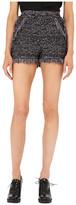 M Missoni Lurex Fringe Shorts