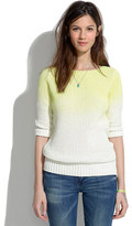 Madewell Neon fade sweater