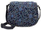 Patricia Nash Denim & Daises Salerno Small Saddle Bag