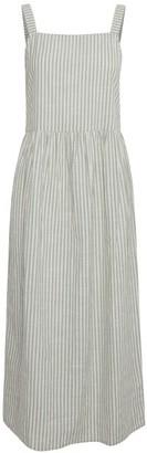 Ichi IH Tulle Summer Dress - XS . | cotton | blue | Della Robbia Blue - Blue/Blue